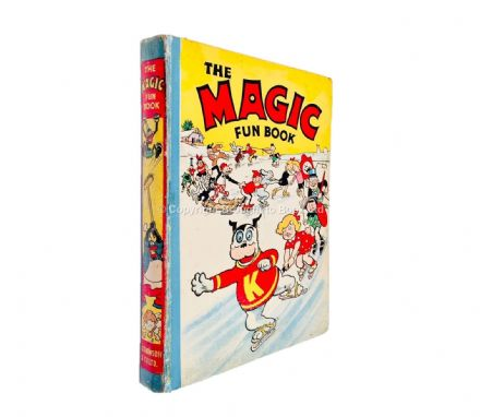 The Magic Fun Book 1941 Annual Published D.C. Thomson 1940